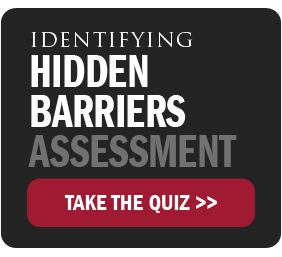 Identifying Hidden Barriers